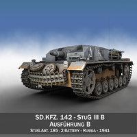 StuG III - Ausf.B - StuG.Abt. 185