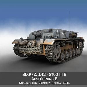 c4d - stug iii panzer tank