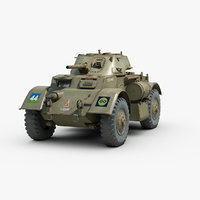 T17 E Staghound Armored Car