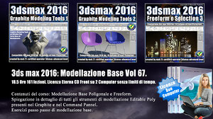 067 3ds max 2016: Modellazione Base Cd Front V 67