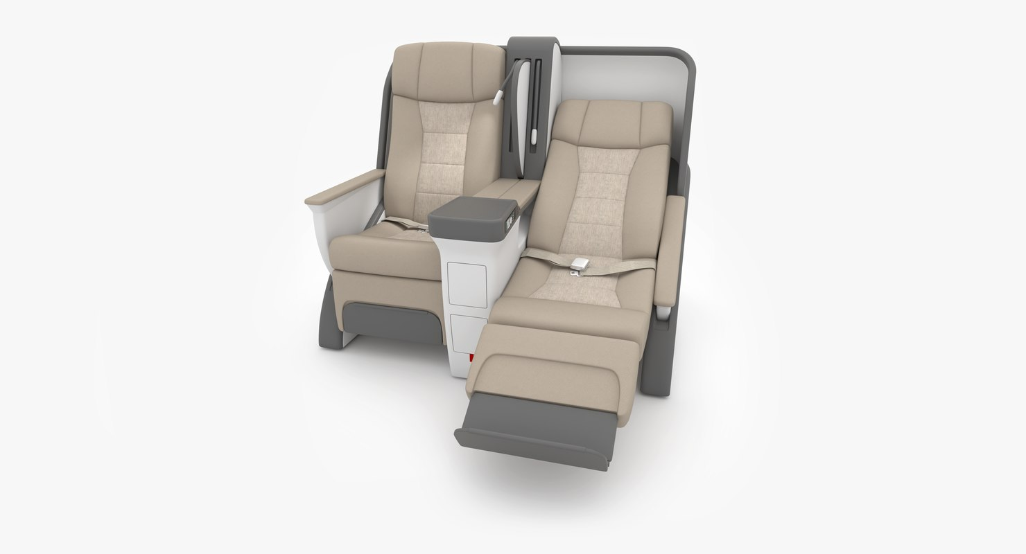 seat business 3D