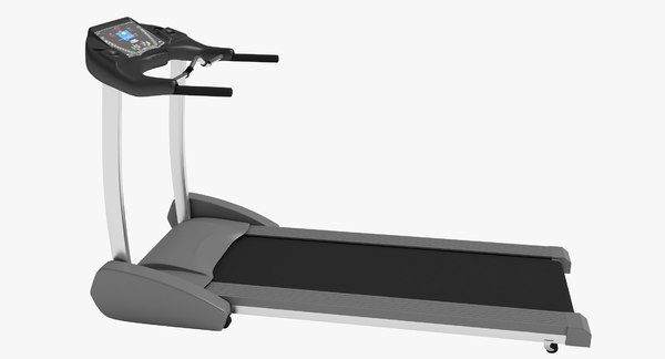 3d model treadmill gym fits