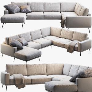 carlton sofa obj