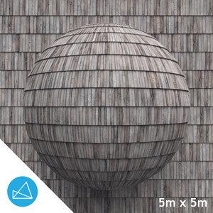 Wood shingles texture