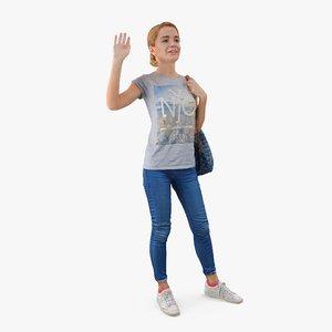 3d model human body