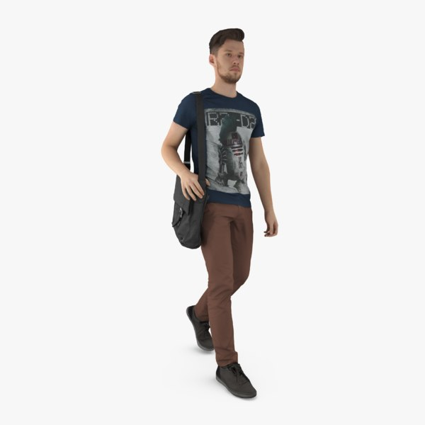 3ds max human body