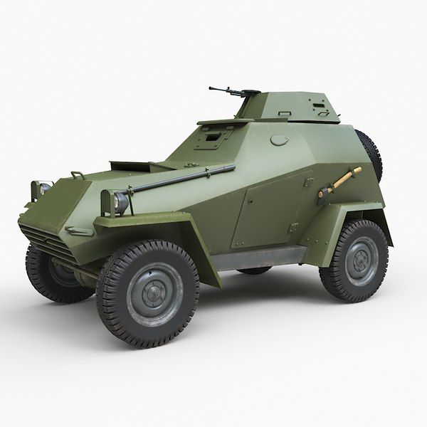 3D model ba 64 soviet corona