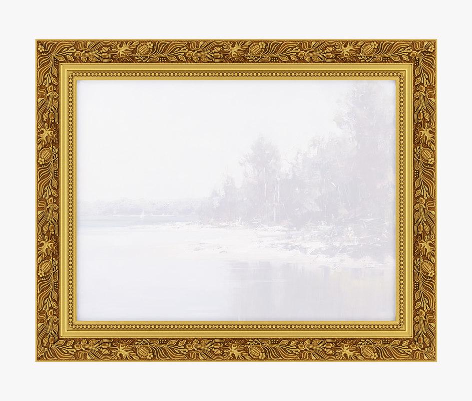 3D frame picture v06