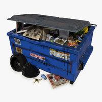 3d dumpster pbr 5