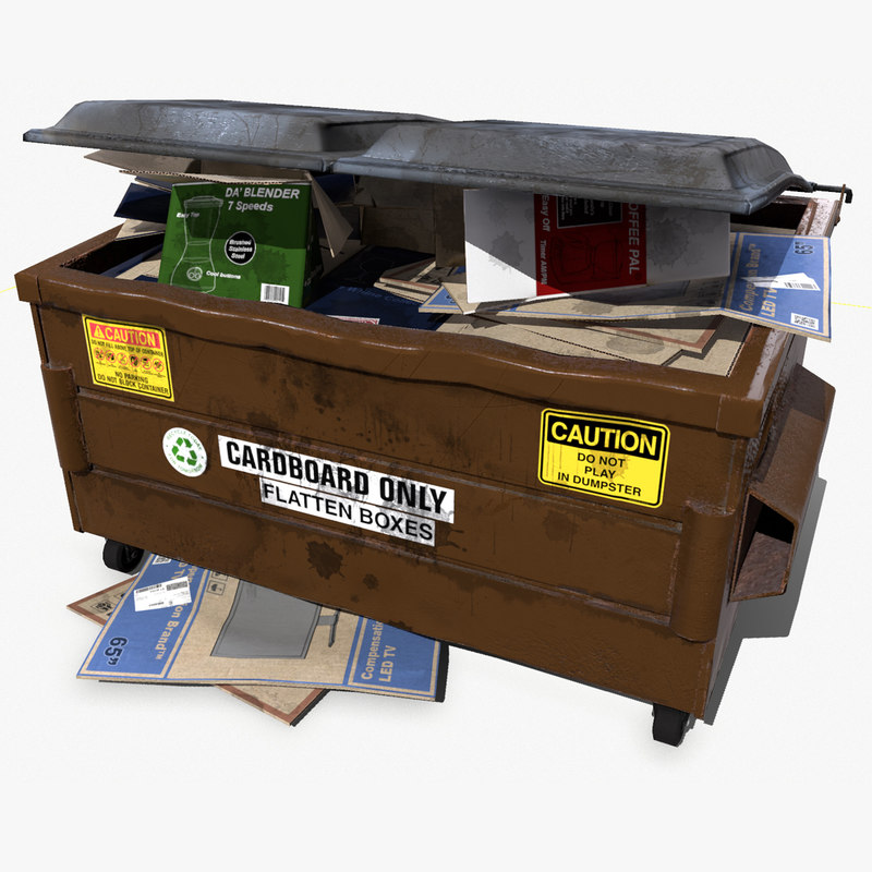 max recycle dumpster