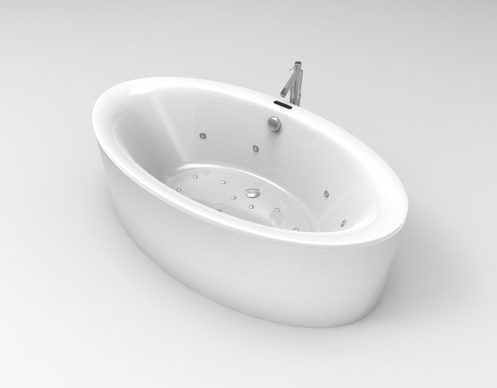 bath tub bathtub 3ds