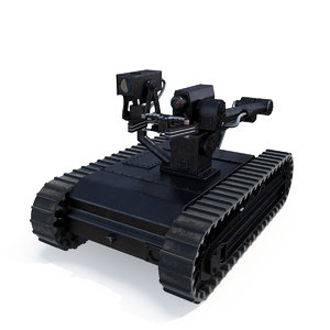 3D military army robot