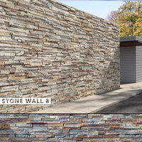 3D seamless stone wall 8