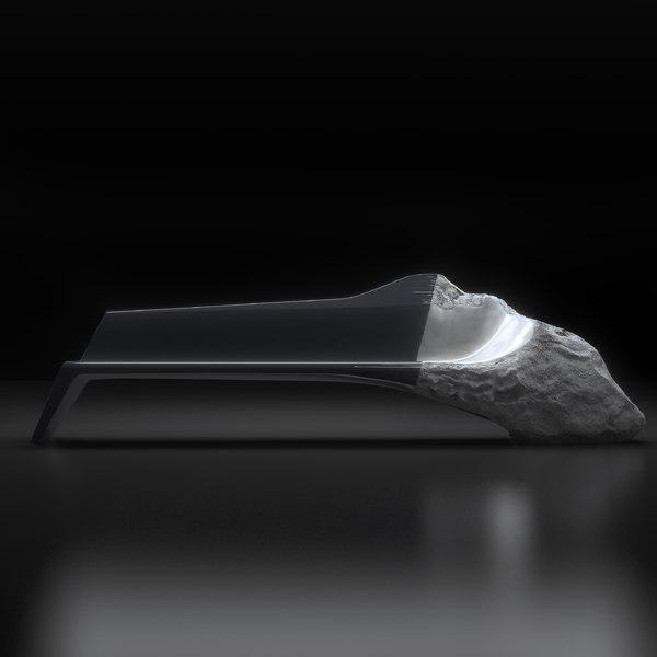 peugeot onyx sofa 3d model