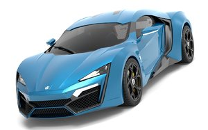 3D lykan hypersport 2014