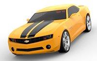3D model chevrolet camaro 2010