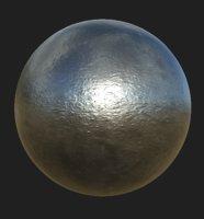 Iron PBR Material (2K)
