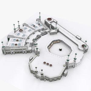 3d model masjid al haram