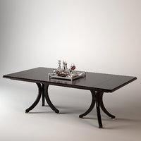 Baker Vienna Dining Table