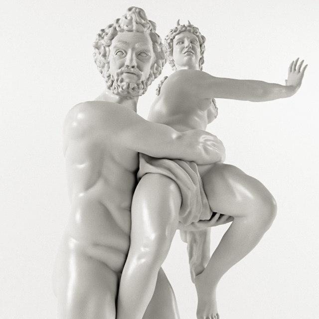 3D model gian lorenzo bernini -