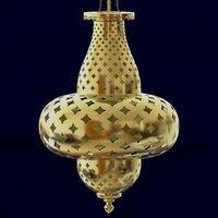 Exotic Moroccan Pendant Lamp