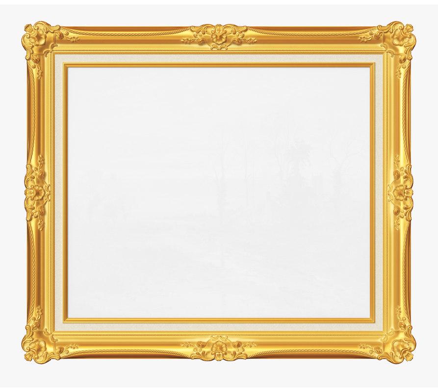 3D frame picture v01 model