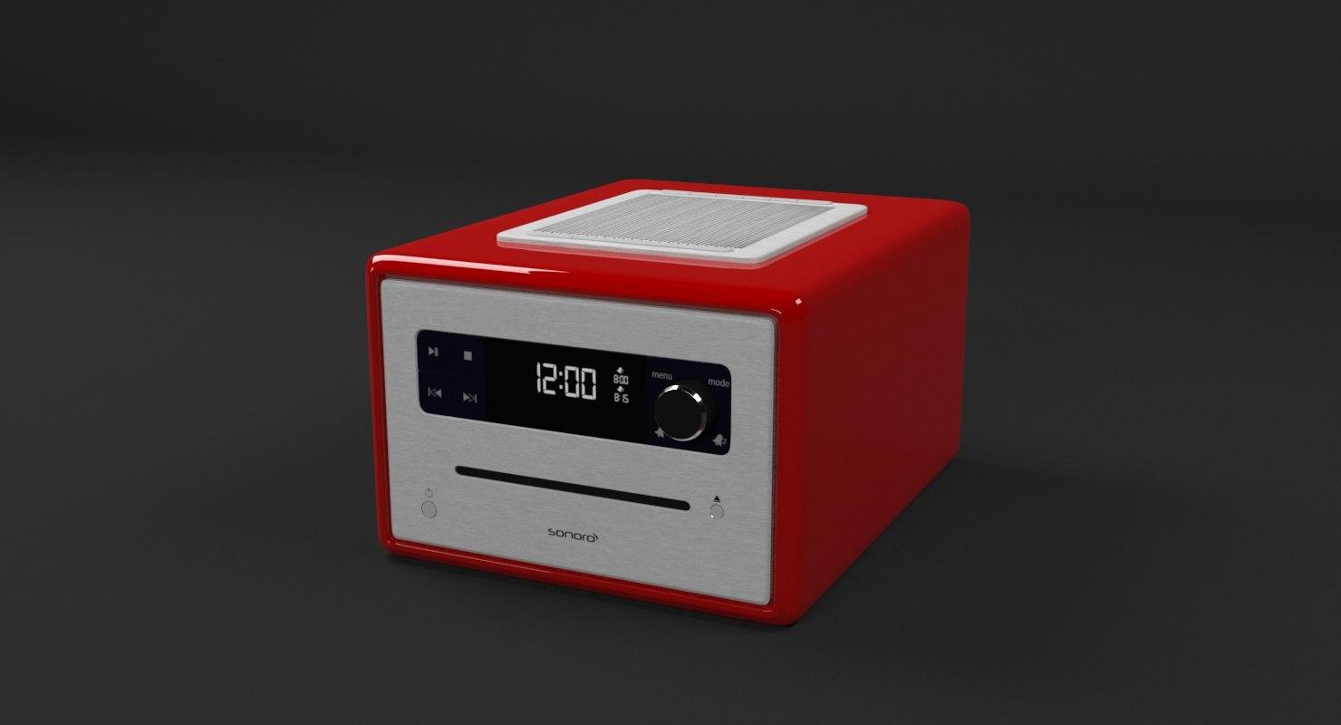 3D sonoro cd radio