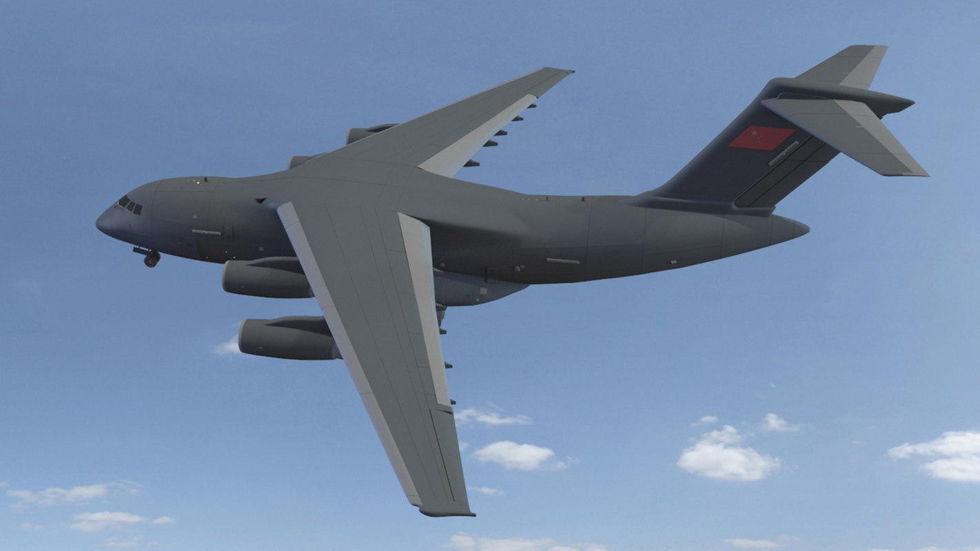china y-20 3D model