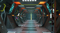 Space Ship Corridor