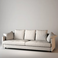 sofa giorgetti wally 3d model