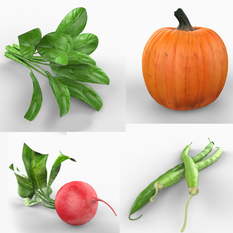 max vegetables spinach pumpkin