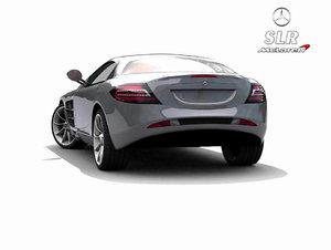 mercedes slr mclaren 3d model