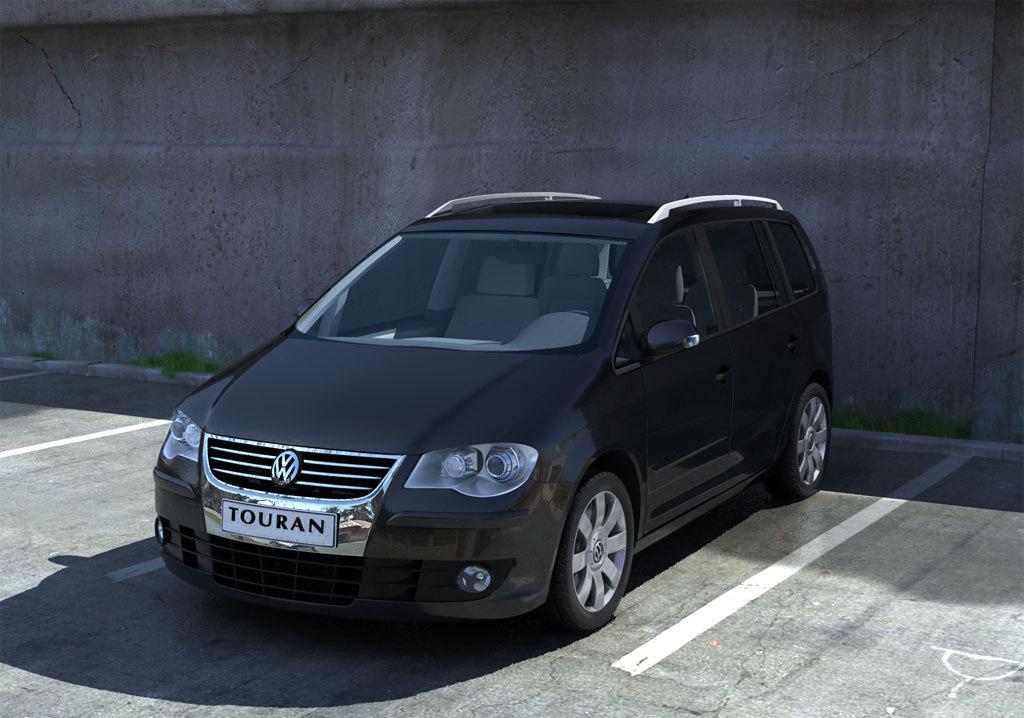 touran 3d model