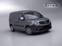 Mercedes Citan Van 2013 - Low Poly