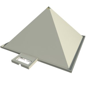 3D pyramid cheops