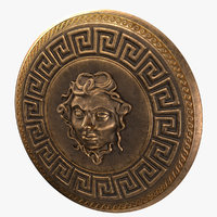 Shield with Head of Medusa