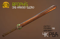 Egyptian Pantheon Apophis One-Handed Sword