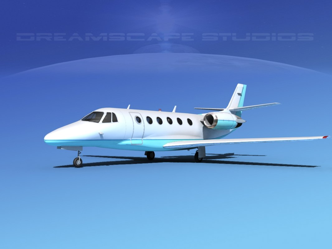 3d scale cessna citation xls model