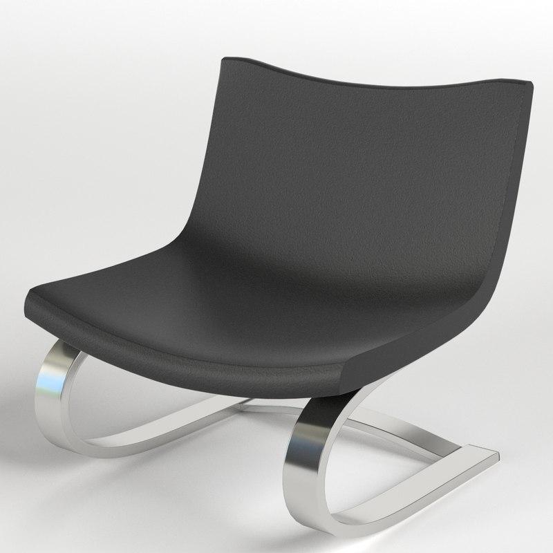 3d armchairs 2 model