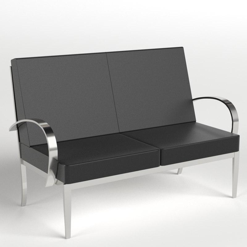 3d armchairs 4
