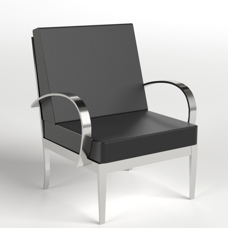 3d model armchairs 5