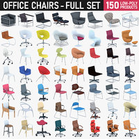 Office Chairs Collection - Full set