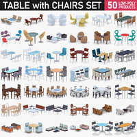 Table with Chairs Collection
