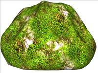 Mossy rock 04