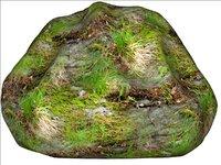 Mossy rock 07