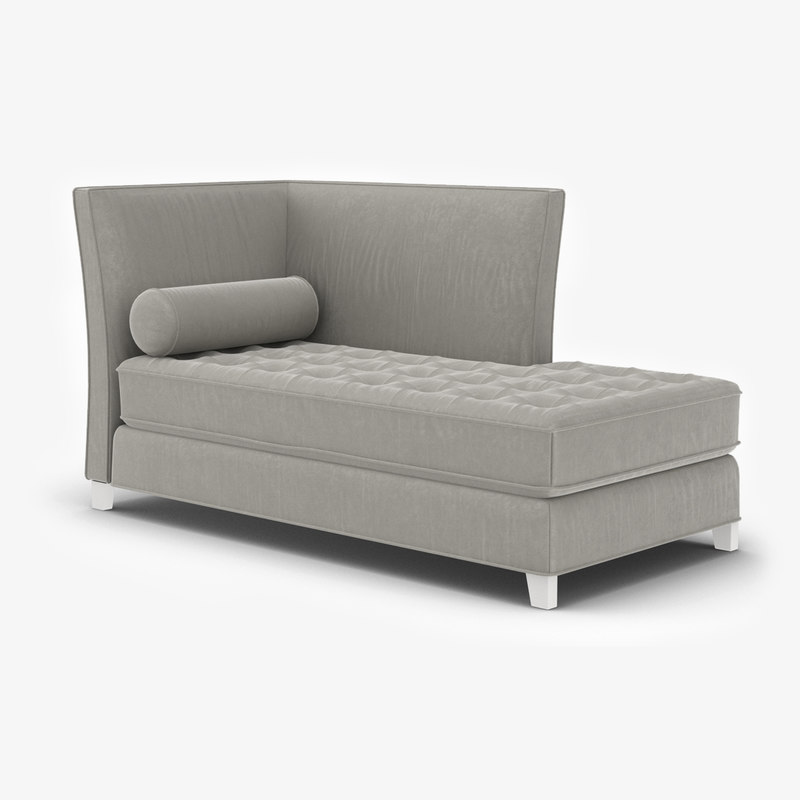 restoration hardware rylin lounge 3D model