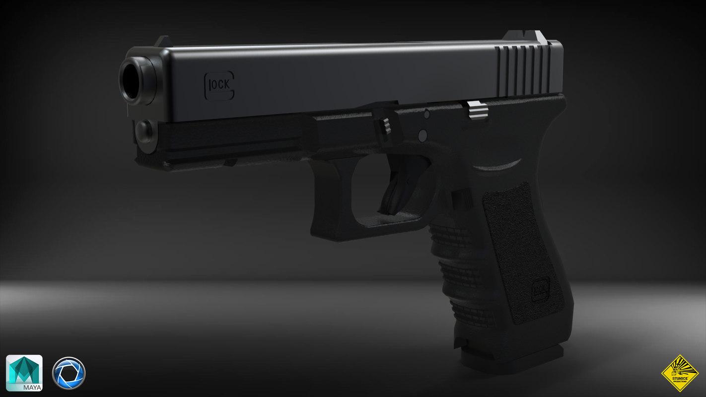 glock 17 obj