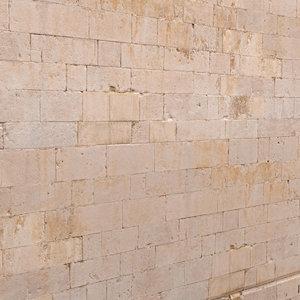 stone walls 3D model