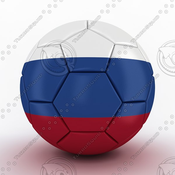 world cup 2018 russia 3D model