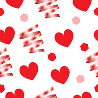 seamless pattern texture - Valentines day theme